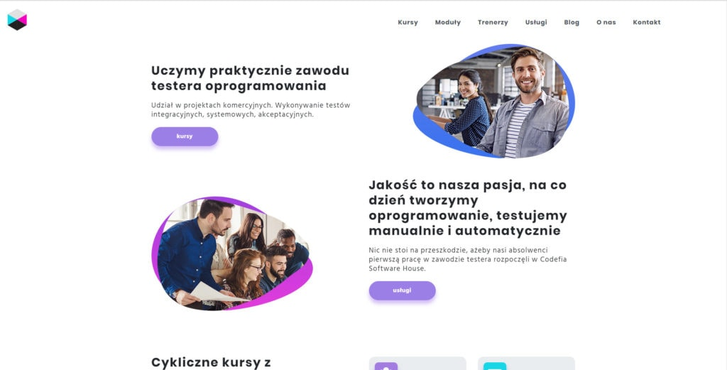 Strona internetowa testeroprogramowania.com