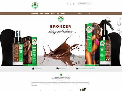 Organictan online store