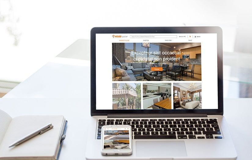 A modern E-commerce platform for manufacturers and suppliers offering interior design products